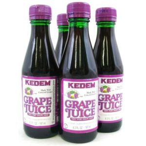 kedem brand grape juice, 4-pack
